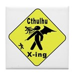 Cthulhu Crossing! Tile Coaster