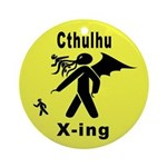 Cthulhu Crossing! Ornament (Round)
