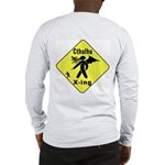 Cthulhu Crossing! (BackDesign) Long Sleeve T-Shirt