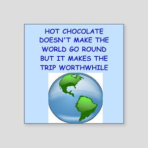 hot,chocolate Sticker
