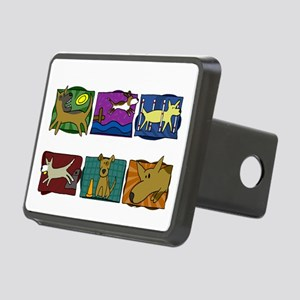 mutts_do_it_all_blk Rectangular Hitch Cover