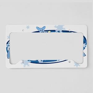 corgi_noel License Plate Holder