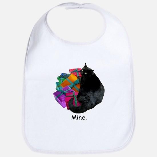 Cat with Presents Bib