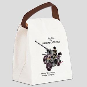 baghdadcommute Canvas Lunch Bag