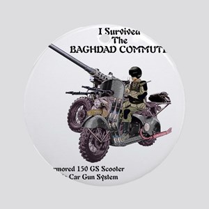 baghdadcommute Round Ornament