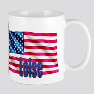 Loise American Flag Gift Mug