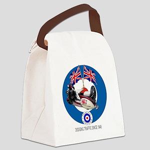 UKVespabullseyewhite1 Canvas Lunch Bag