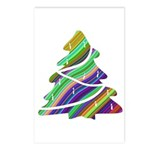 Decorated Christmas Tree Postcards (Package of 8)
