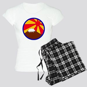 mt-fuji-round Women's Light Pajamas
