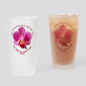 orchid-buddha Drinking Glass