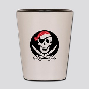 cant-sleep-pirates-black Shot Glass