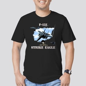 F-15E Strike Eagle-2 Men's Fitted T-Shirt (dark)