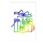 Christmas Presents! Postcards (Package of 8)
