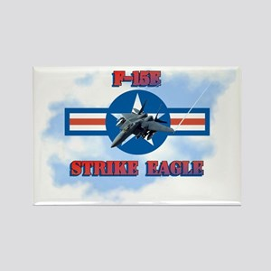 F-15E Strike Eagle-ver3 Rectangle Magnet