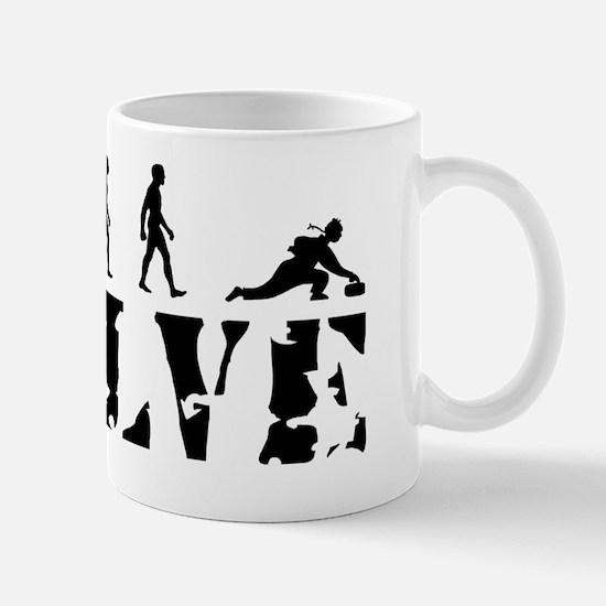 curling-white Mug