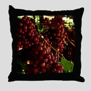 flame-seedless-grape1 Throw Pillow