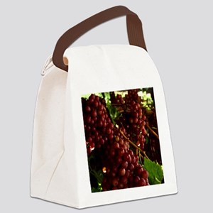 flame-seedless-grape1 Canvas Lunch Bag