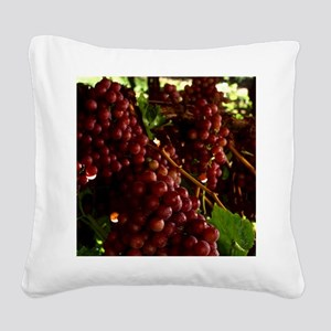 flame-seedless-grape1 Square Canvas Pillow