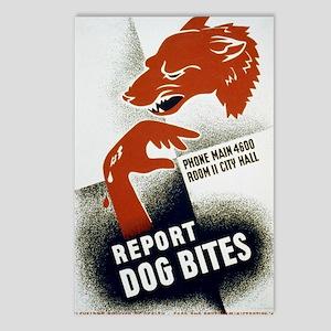 3b48997u.-dogbite Postcards (Package of 8)