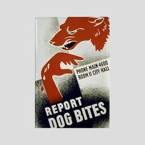 3b48997u.-dogbite Rectangle Magnet