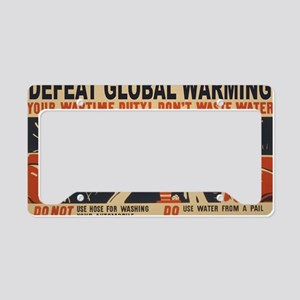 3f05375u-wastewater2 License Plate Holder