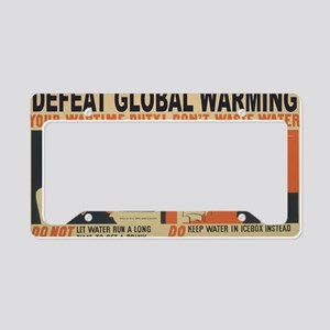 3f05376u-wastewater3 License Plate Holder