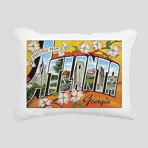 atlanta Rectangular Canvas Pillow