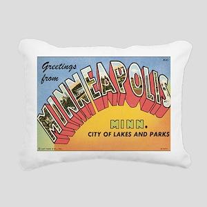 minneapolis Rectangular Canvas Pillow