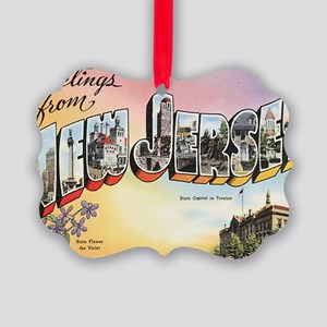 new-jersey Picture Ornament
