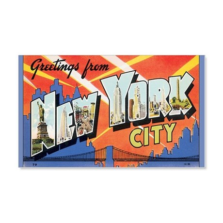 new-york 20x12 Wall Decal