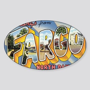 fargo Sticker (Oval)