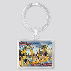 fargo Landscape Keychain