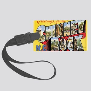 chimney-rock Large Luggage Tag