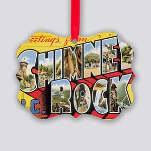 chimney-rock Picture Ornament