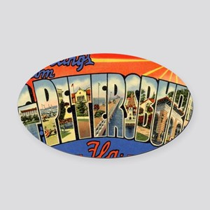 st-peters-2 Oval Car Magnet