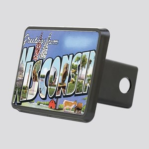 wisconsin Rectangular Hitch Cover