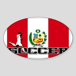 Peru-s Sticker (Oval)