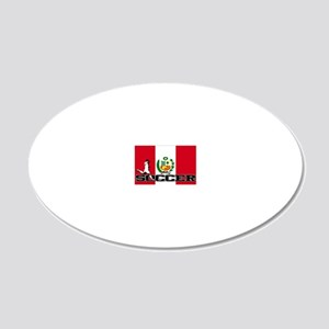 Peru-s 20x12 Oval Wall Decal