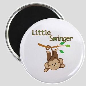 Boy Monkey Little Swinger Magnet