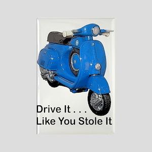 drive-it-stole-it-white Rectangle Magnet
