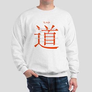 tao-water-iching-black Sweatshirt