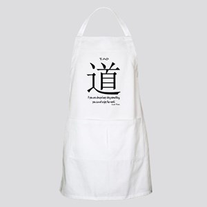 tao-always-busy-tzu-white Apron
