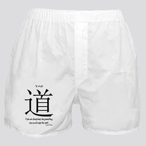 tao-always-busy-tzu-white Boxer Shorts