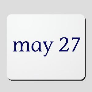 May 27 Mousepad