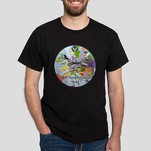 b-17map-round Dark T-Shirt