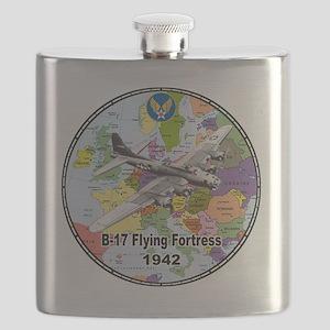 b-17map-round Flask