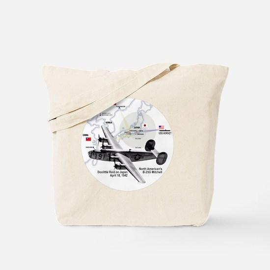 doolittle-raid-white2 Tote Bag