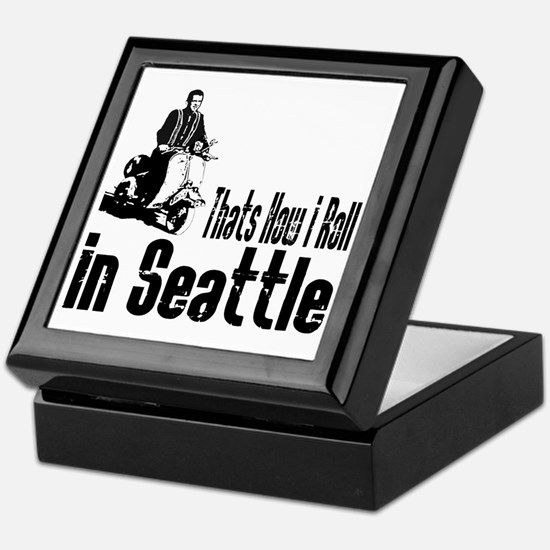 seattle Keepsake Box