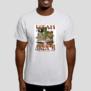 Utah The New Area 51 Organic Cotton Tee T-Shirt