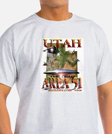 Utah The New Area 51 Organic Cotton Tee T-Shirt